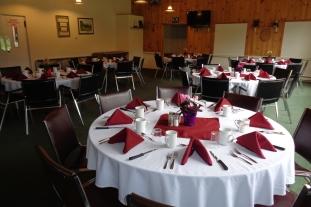 Views of dinning room